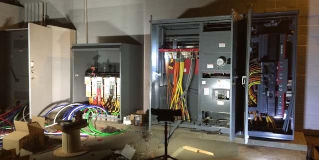 New Switch gear Installation